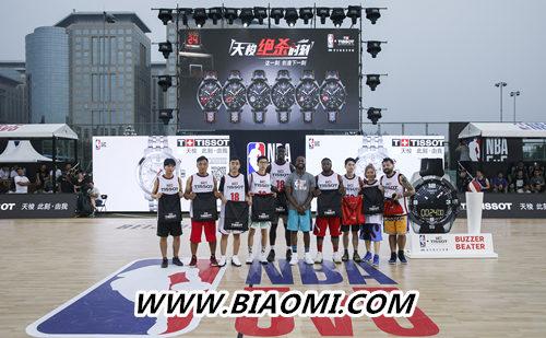 天梭速驰系列NBA球队款腕表点亮京城夏夜 热点动态 第15张
