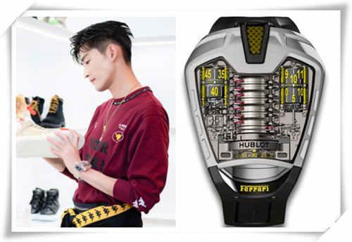 《勇敢的世界》中张翰的腕表依旧十分豪气