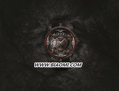 罗杰杜彼Excalibur Quatuor Carbon四游丝摆轮碳纤维腕表隆重登场 名表赏析 第1张