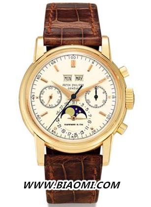 蒂芙尼&百达翡丽Ref.2499腕表 成为亚洲拍卖史上最贵腕表 热点动态 第2张