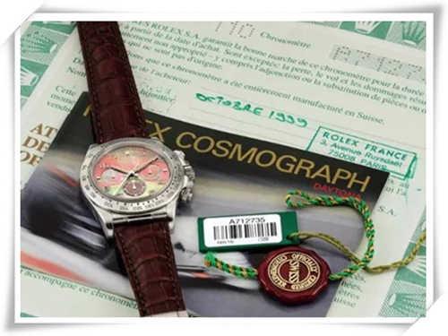 最贵的现代劳力士腕表 竟是真力时机芯?