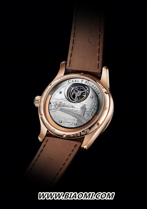 宝齐莱隆重推出传承系列双外缘陀飞轮腕表限量款,为品牌庆生 热点动态 第3张