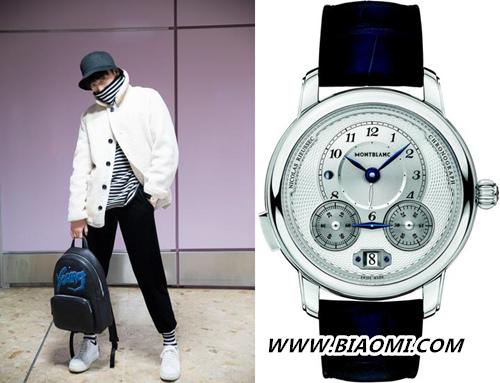 万宝龙品牌大使杨洋公布兄弟照?二人谁戴表更有范儿? 热点动态 第3张