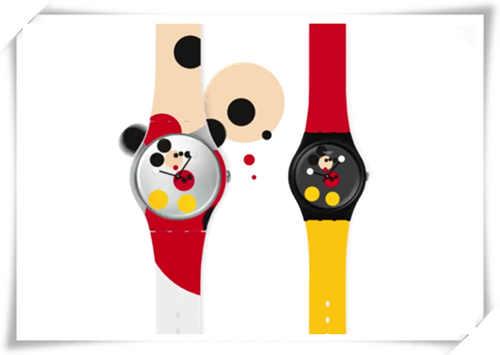 米奇90大寿?Swatch特推出米奇特别版腕表