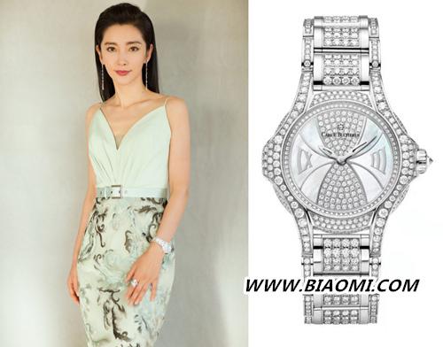 李冰冰佩戴宝齐莱限量珠宝腕表 主持第17届中国电影华表奖 名表赏析 第3张