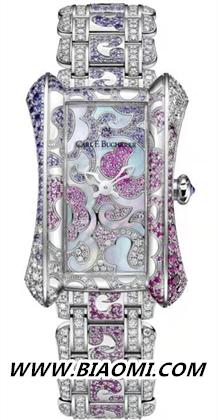 李冰冰佩戴宝齐莱限量珠宝腕表 主持第17届中国电影华表奖 名表赏析 第6张