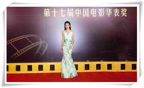 李冰冰佩戴宝齐莱限量珠宝腕表 主持第17届中国电影华表奖
