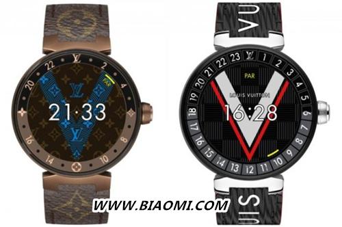 LV第2代智能腕表系列公布 智能手表 第2张