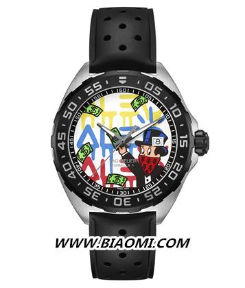 艺术碰撞时间:TAG Heuer泰格豪雅携手先锋艺术家Alec Monopoly发布两款腕表新作 名表赏析 第3张