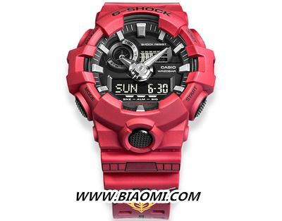 卡西欧与万代合作推出 G-Shock 高达 40 周年特别款 热点动态 第3张
