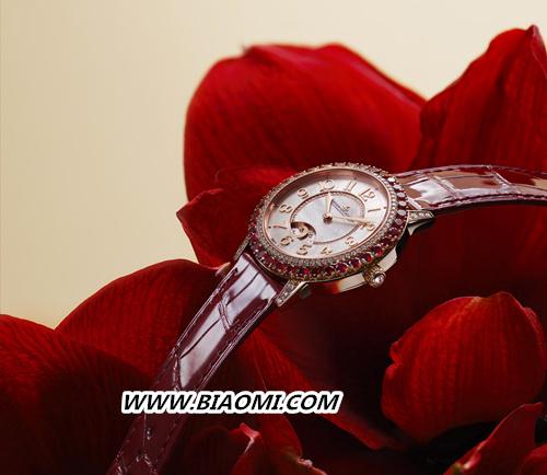 全新积家DAZZLING RENDEZ-VOUS RED 约会系列珠宝腕表红色限量款 名表赏析 第3张