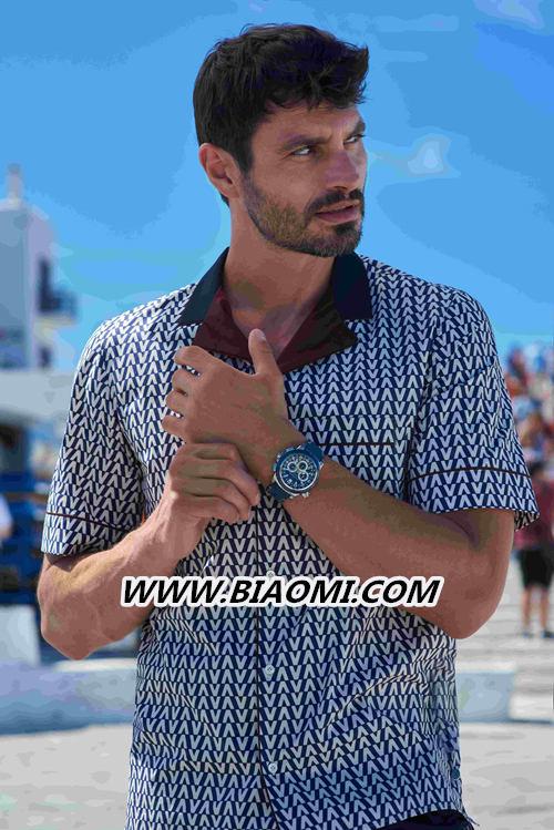 蓝色时刻 柏拉维系列腕表炫酷设计 沁爽炎炎夏日 名表赏析 第1张
