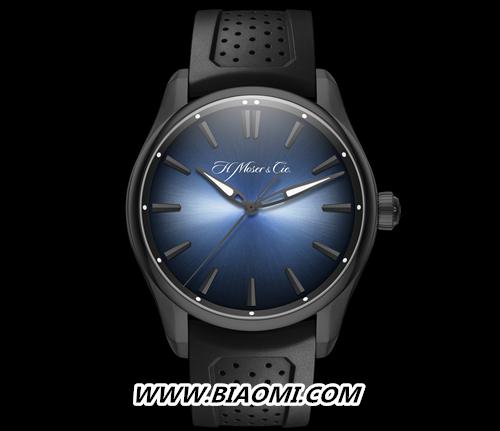 开拓者大三针电光蓝黑色版腕表展开环游世界之旅 名表赏析 第3张