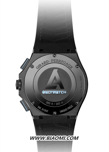 GP芝柏表Laureato桂冠系列Absolute计时码表 Only Watch慈善拍卖特别款 名表赏析 第2张