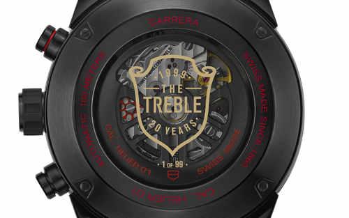 TAG Heuer泰格豪雅发布曼联三冠王纪念腕表