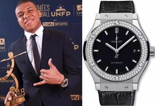 身价两亿欧戴什么表?球坛新王姆巴佩的腕表了解下!