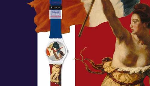 把卢浮宫搬到手腕上? 690元的法兰西艺术腕表长什么样?