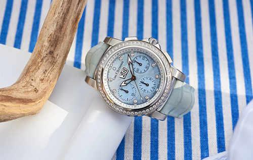 炫彩时刻 柏拉维女装腕表系列 凝萃盛夏色彩于腕间