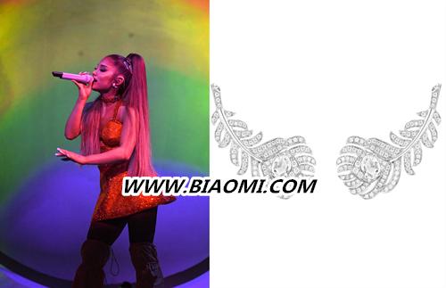 Boucheron宝诗龙Plume de Paon孔雀羽毛系列助燃Ariana Grande伦敦演唱会 热点动态 第2张