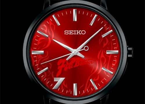 精工推出《超时空要塞7》25周年纪念腕表 大红色的表盘超醒目?