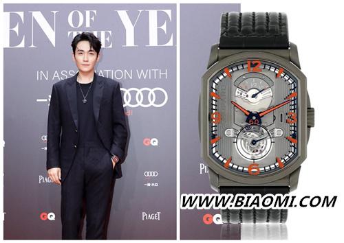 朱一龙佩戴优雅现身GQ盛典 腕上价值60万的手表是亮点? 热点动态 第1张
