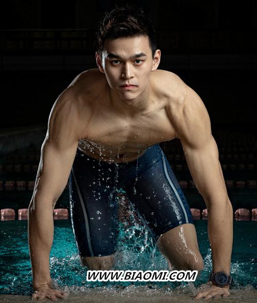 奥运冠军孙杨担任沛纳海品牌大使 泳池露肌肉还秀表? 热点动态 第1张