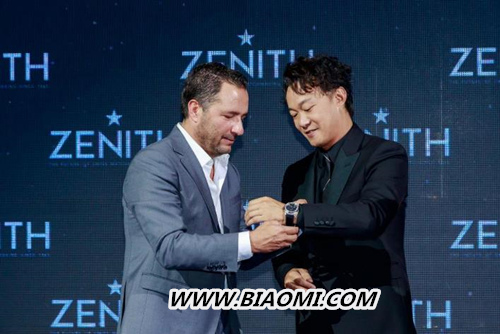 真力时携手陈奕迅发布 DEFY INVENTOR限量版腕表 名表赏析 第1张