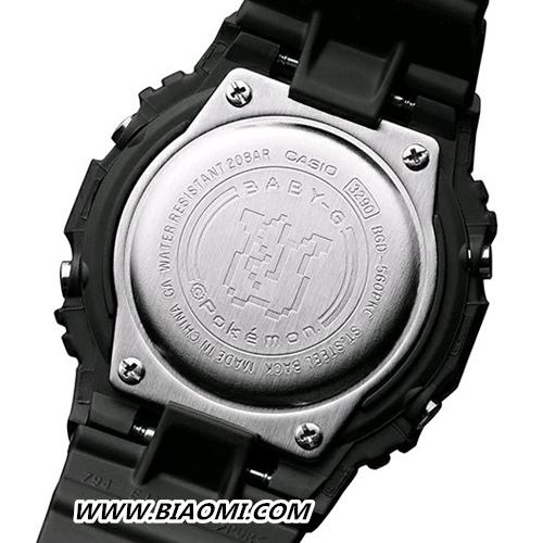 卡西欧BABY-G联名皮卡丘推出25周年限定电子手表 热点动态 第2张
