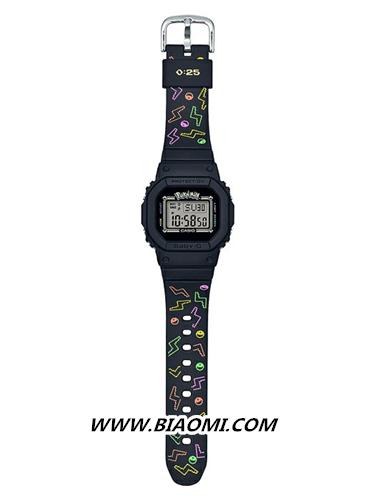 卡西欧BABY-G联名皮卡丘推出25周年限定电子手表 热点动态 第3张