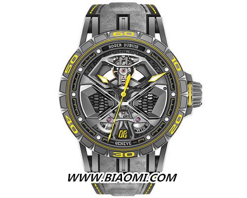 许魏洲佩戴Excalibur Huracán Performante系列黄色款腕表 绅士十足 名表赏析 第2张