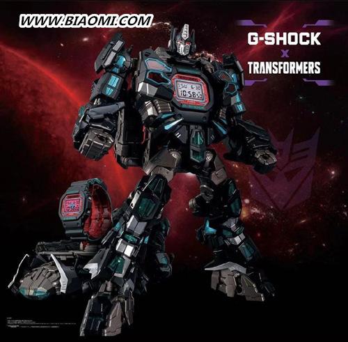 卡西欧G-Shock与变形金刚联名 推出暗黑配色擎天柱 名表赏析 第1张