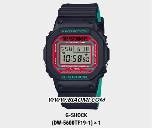 卡西欧G-Shock与变形金刚联名 推出暗黑配色擎天柱 名表赏析 第2张