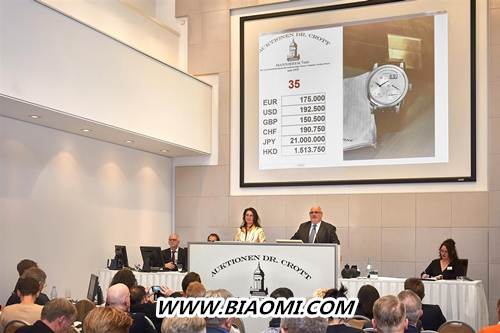 LANGE 1创下非凡拍卖纪录在Dr. Crott拍卖珍罕腕表  LANGE1系列 朗格 热点动态  第1张