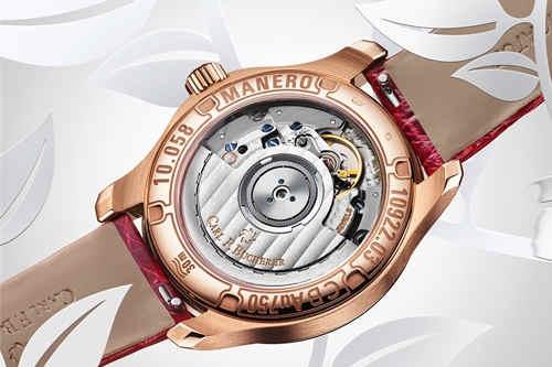 宝齐莱与全球形象代言人李冰冰 呈献马利龙自动日历LOVE腕表