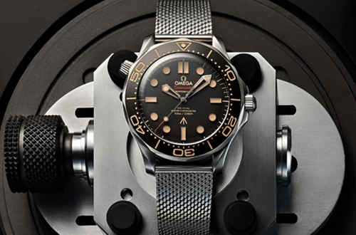 欧米茄推出007版海马系列腕表 詹姆士庞德腕表提前亮相?