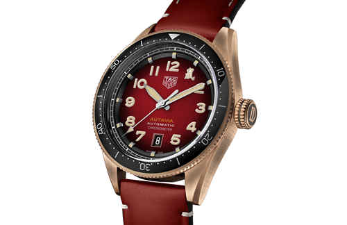 TAG Heuer泰格豪雅推出全新Autavia系列鼠年特别版腕表