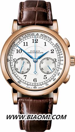 1815 Chronograph 18K玫瑰金款式 精准至五分之一秒 名表赏析
