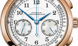 1815 Chronograph 18K玫瑰金款式 精准至五分之一秒