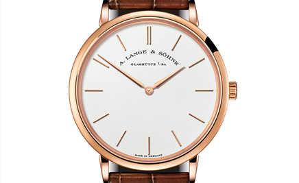 Saxonia Thin 的全新面貌 简约朗格腕表注入创新设计元素