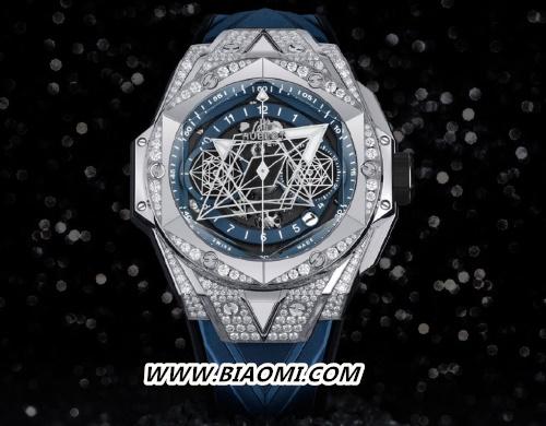 宇舶推出Big Bang Sang Bleu II刺青蓝色腕表 名表赏析 第2张