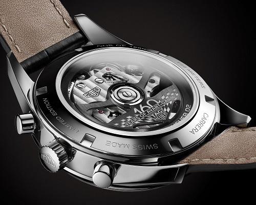 泰格豪雅推出卡莱拉系列Heuer02银色限量腕表 名表赏析 第2张