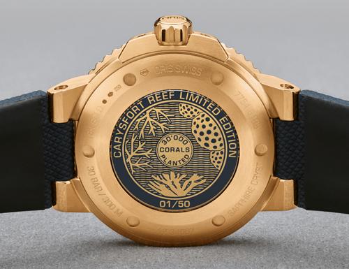 纯金腕表?这款豪利时首款纯金限量潜水表如何? 名表赏析 第2张
