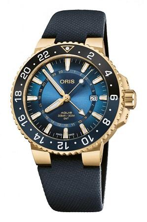 纯金腕表?这款豪利时首款纯金限量潜水表如何? 名表赏析 第3张