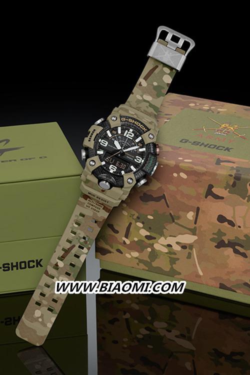 G-SHOCK与英国陆军联动 推出Mudmaster别注腕表 名表赏析 第1张