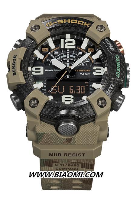 G-SHOCK与英国陆军联动 推出Mudmaster别注腕表 名表赏析 第2张