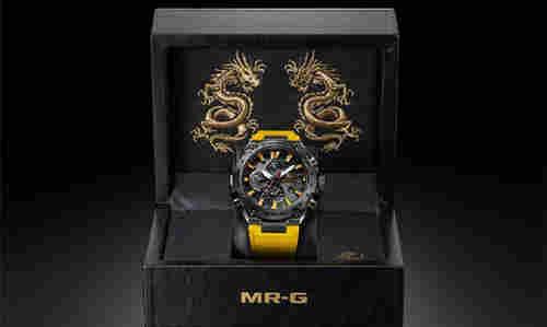 G-SHOCK致敬李小龙诞辰80周年发布特别版MR-G 腕表