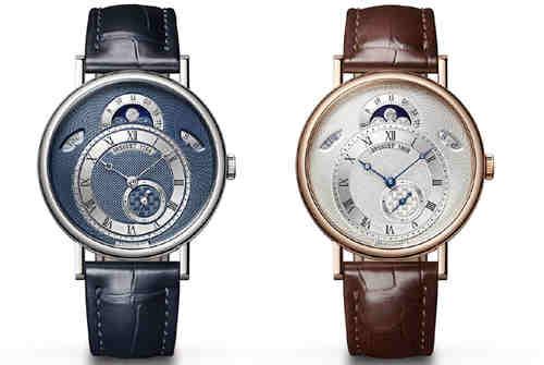 宝玑推出经典系列7137和7337腕表