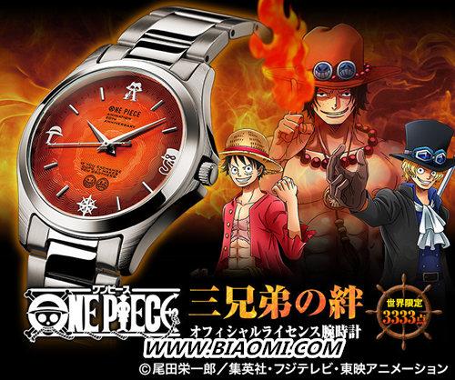 PREMICO推出《海贼王》限量腕表——路飞三兄弟 热点动态 第1张