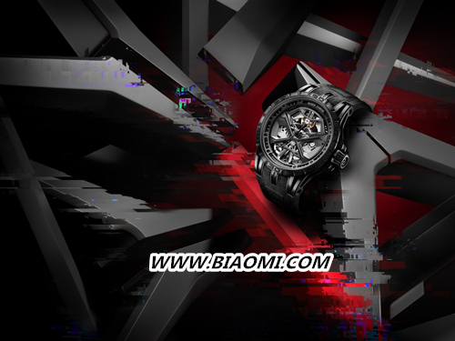 Roger Dubuis罗杰杜彼 全黑Excalibur Huracán腕表时尚出击 Excalibur Huracán 罗杰杜彼 Roger Dubuis 名表赏析  第1张