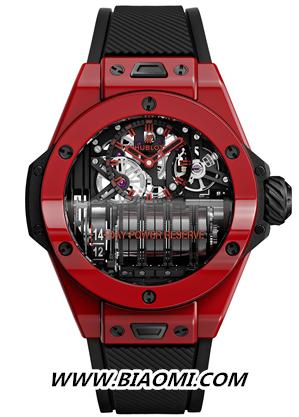 HUBLOT宇舶表BIG BANG MP-11 红色魔力腕表 融合红色元素,流淌炽热激情 名表赏析 第2张